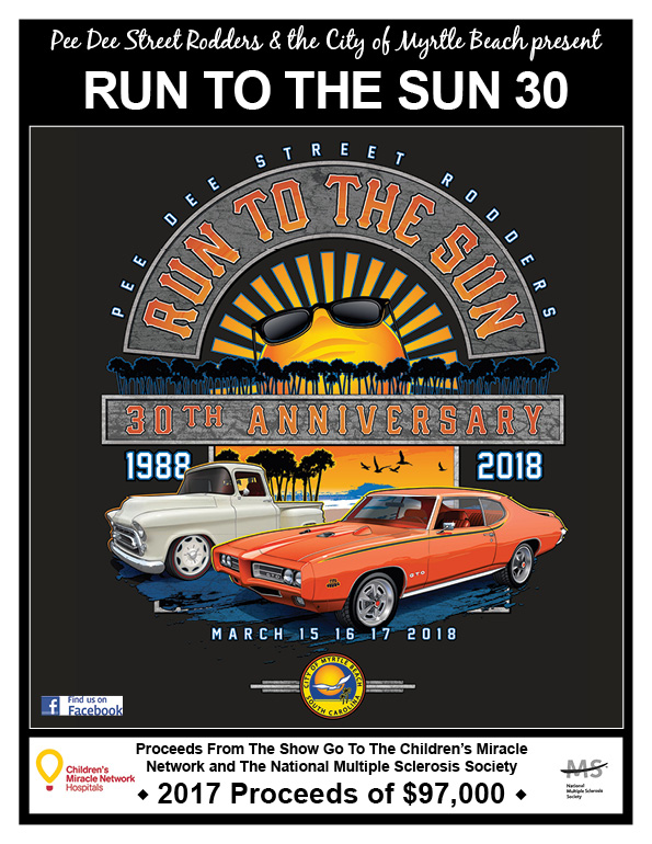 Run To The Sun Car Show CharlestonCarShowscom - Myrtle beach car show